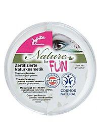 Maquillage naturel blanc