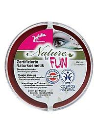 Maquillage naturel rouge