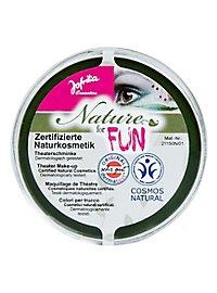 Maquillage naturel vert