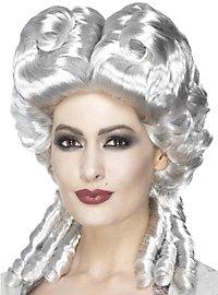 Marie Antoinette Kunsthaar Perücke weiß