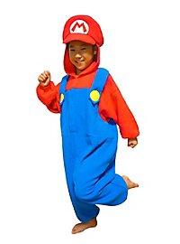 Mario Kigurumi child costume