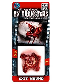 Marque de sortie de balle 3D FX Transfers