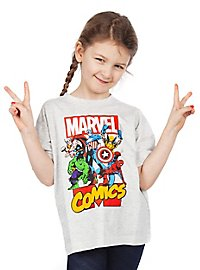 Marvel Comics Kinder T-Shirt Heroes