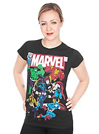 Marvel - Girlie Shirt Team-Up