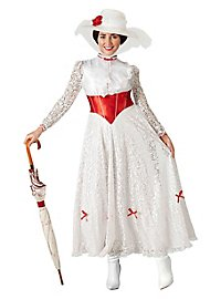 Mary Poppins costume flower dress