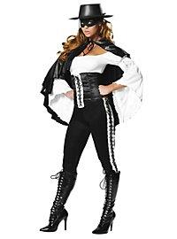 Maskierte Rächerin Kostüm