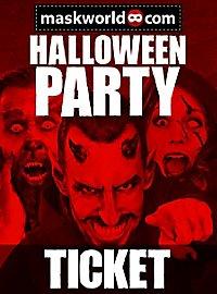 maskworld.com Halloween Party Ticket Berlin 2016