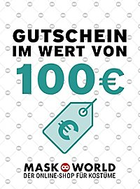 maskworld.com Geschenkgutschein 100,- Euro