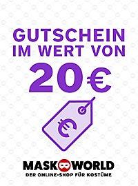 maskworld.com Geschenkgutschein 20,- Euro