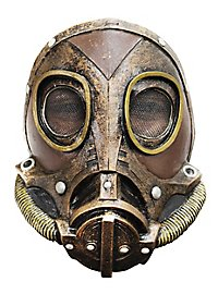 Masque à gaz steampunk
