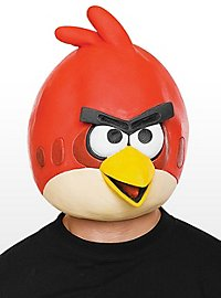 Masque Angry Birds rouge