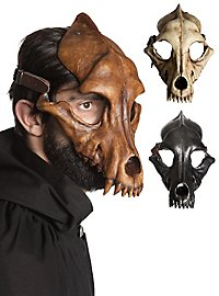 Masque animal - Crâne de loup