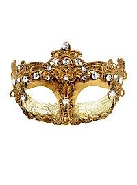 Masque Colombina Venezia doré