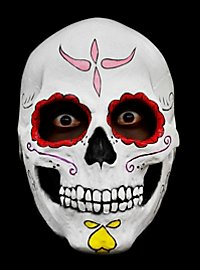 Masque de calavera mexicaine en latex