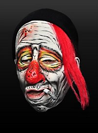 Masque de clown junkie en latex
