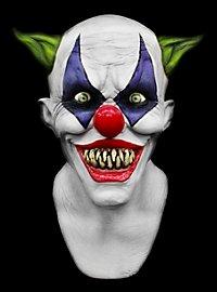 Masque de clown taré Deluxe en latex