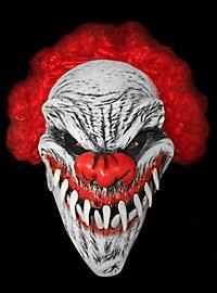 Masque de clown vorace en latex