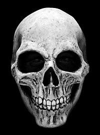 Masque de crâne blanc en latex