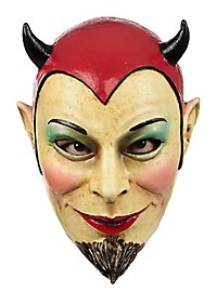 Masque de diable malicieux