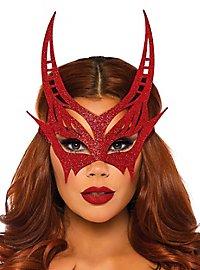 Masque de diable scintillant
