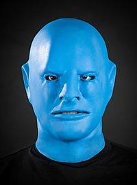 Masque de fantôme bleu en latex