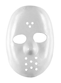 Masque de hockey blanc