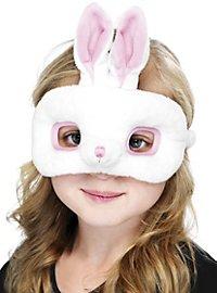 Masque de lapin en peluche pour enfant
