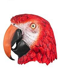 Masque de perroquet en latex