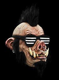 Masque de porc rockeur en latex
