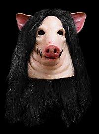 Masque de porc Saw Pig Deluxe officiel en latex