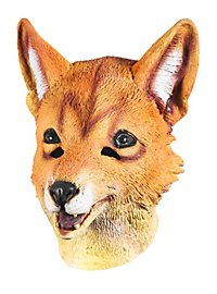 Masque de renard roux en latex