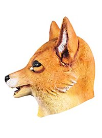 Masque de renard roux en latex