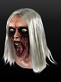 Masque de sorcière en furie en latex