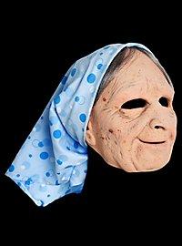 Masque de sorcière vieille rombière en latex