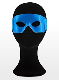Masque de super-héros bleu