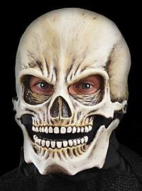 Masque de tête de mort en latex