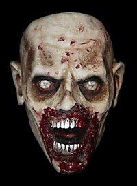 Masque de zombie affamé The Walking Dead en latex