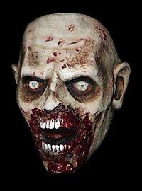 Masque de zombie affamé The Walking Dead en latex