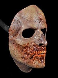 Masque de zombie bouffé The Walking Dead en latex
