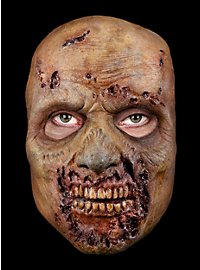Masque de zombie bouffé The Walking Dead en latex