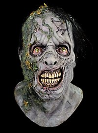 Masque de zombie couvert de mousse The Walking Dead