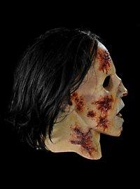 Masque de zombie en costume The Walking Dead en latex