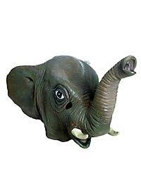 Masque d'éléphant en latex
