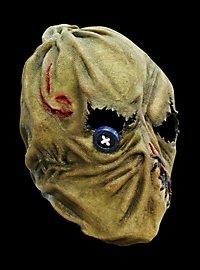 Masque d'épouvantail terrifiant en latex