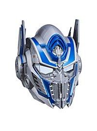 Masque d'Optimus Prime Transformes avec déformateur de voix