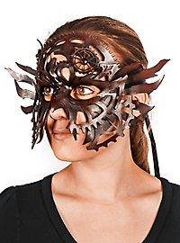 Masque en cuir - Clockwork marron