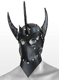 Masque en cuir de tyran