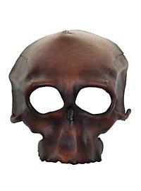 Masque en cuir - Tête de mort