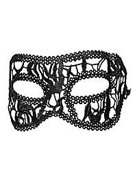 Masque en dentelle Colombina noir