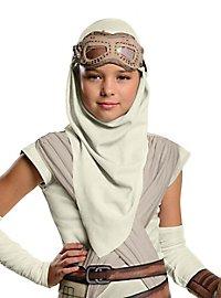 Masque et capuche de Rey Star Wars 7 pour enfant